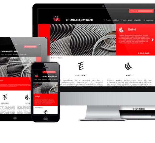 Nowa strona www dla firmy AIB