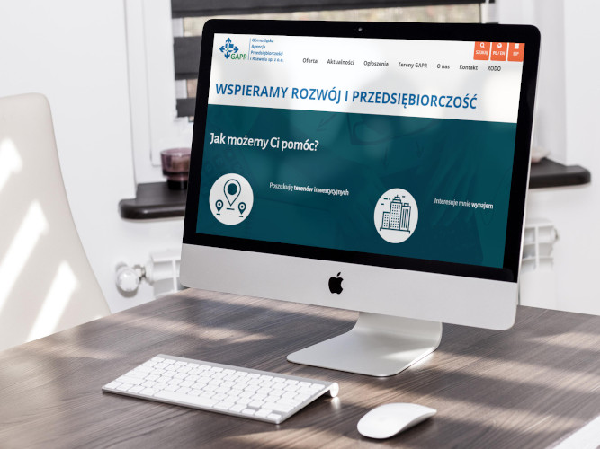 Nowa strona www dla GAPR