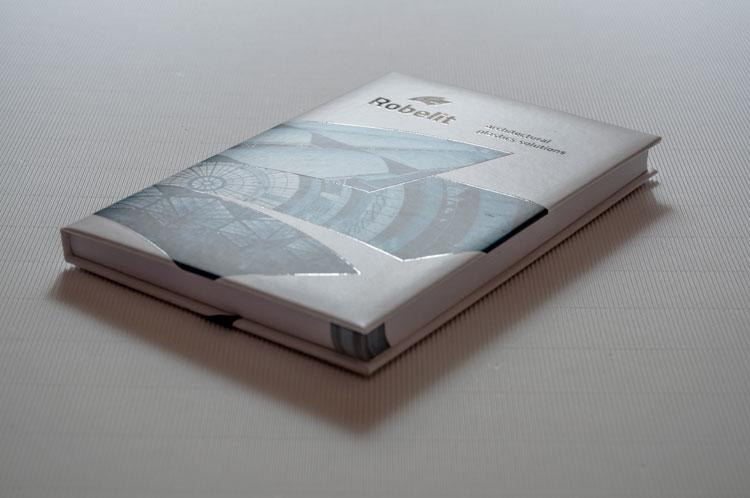 Projekt i wykonanie notesu dla firmy Robelit