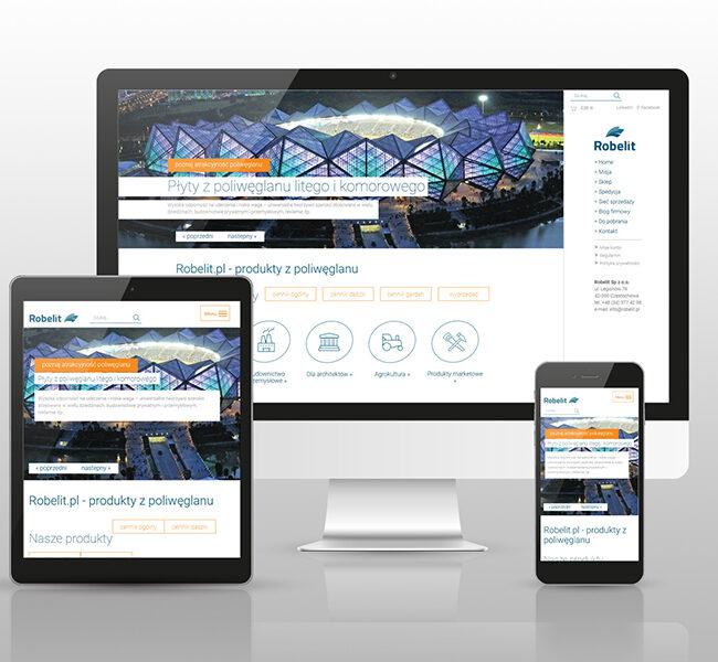 Sklep internetowy dla firmy Robelit