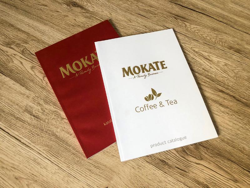 Ekskluzywne katalogi dla firmy Mokate