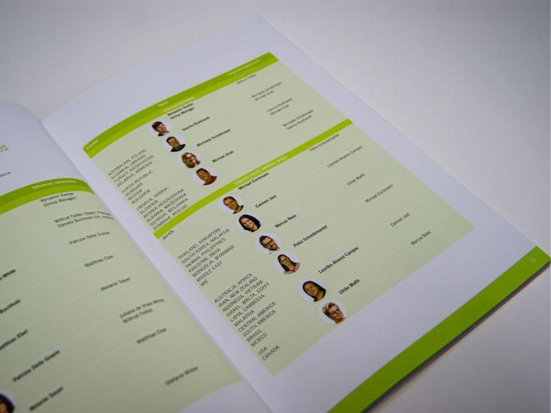 Katalog dla firmy Kulzer - wnętrze