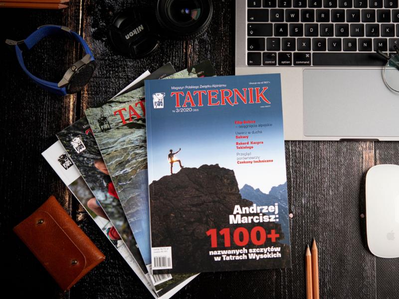 czasopismo i magazyn sportowy Taternik